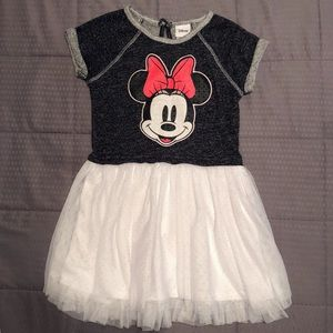 Toddler Girl's 4t Minnie Mouse Disney Dress